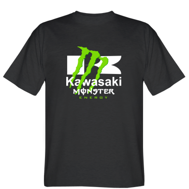 Футболка Kawasaki Monster Energy