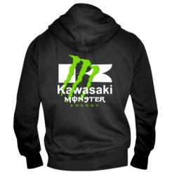 Мужская толстовка на молнии Kawasaki Monster Energy