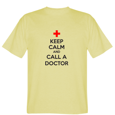 Футболка KEEP CALM and CALL A DOCTOR