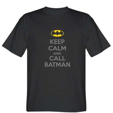 Футболка KEEP CALM and CALL BATMAN