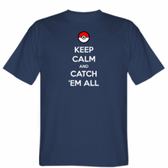 Футболка Keep Calm and Catch 'em all!