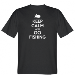 Футболка Keep Calm and go fishing