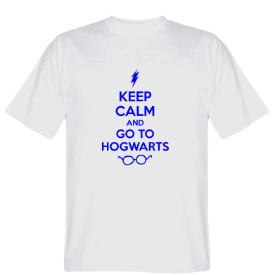 Футболка KEEP CALM and GO TO HOGWARTS