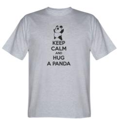 Футболка KEEP CALM and HUG A PANDA