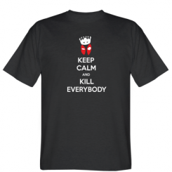 Футболка KEEP CALM and KILL EVERYBODY