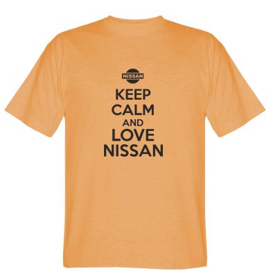Футболка Keep calm and love Nissan