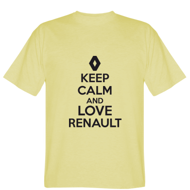Футболка KEEP CALM AND LOVE RENAULT