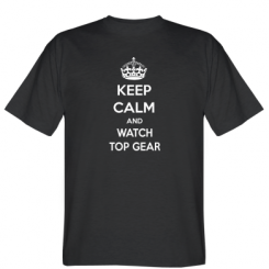 Футболка KEEP CALM and WATCH TOP GEAR