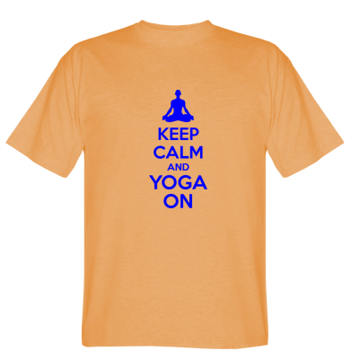 Футболка KEEP CALM and YOGA ON