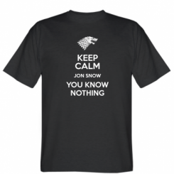 Футболка Keep Calm Jon Snow