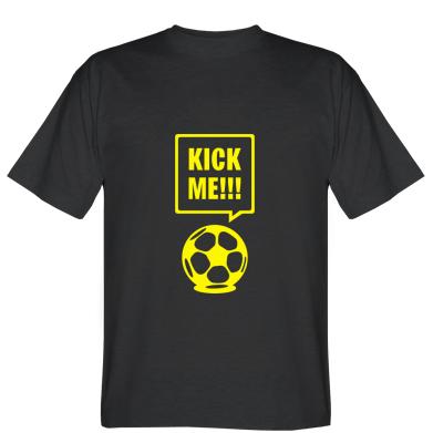 Футболка Kick me!