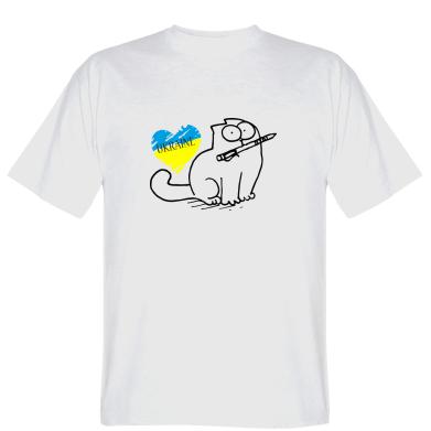 Футболка Кіт-патріот