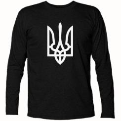 Купити Футболка з довгим рукавом Класичний герб України