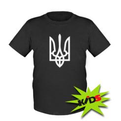 Купити Дитяча футболка Класичний герб України