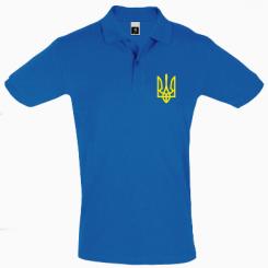 Футболка Поло Класичний герб України