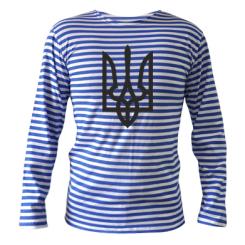 Купити Тільняшка з довгим рукавом Класичний герб України