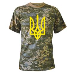 Купити Камуфляжна футболка Класичний герб України