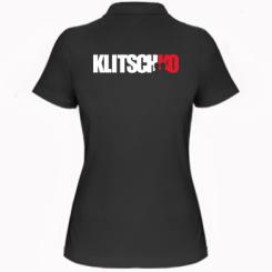 Купити Жіноча футболка поло Klitschko