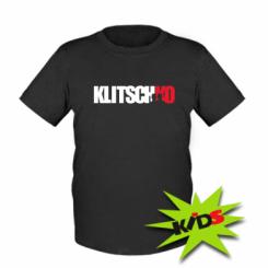 Купити Дитяча футболка Klitschko