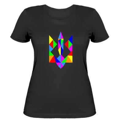 Купити Жіноча футболка Кольоровий герб
