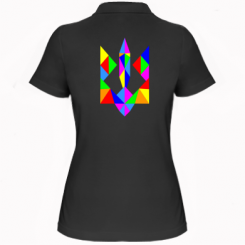 Купити Жіноча футболка поло Кольоровий герб