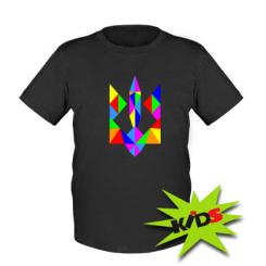 Купити Дитяча футболка Кольоровий герб