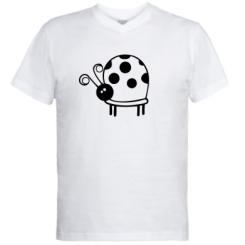 Купити Чоловічі футболки з V-подібним вирізом Корівка