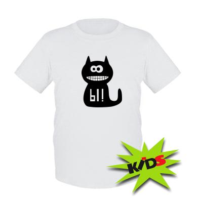 Купити Дитяча футболка Кішка И