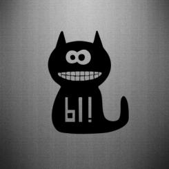Купити Наклейка Кішка И