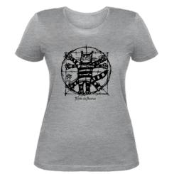Жіноча футболка Кот да Вінчі
