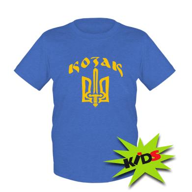 Детская футболка Козак з гербом