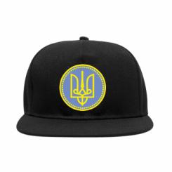 Снепбек Красивий герб України у колі