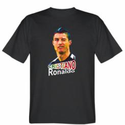 Футболка Крістіано Роналдо, полігональний портрет
