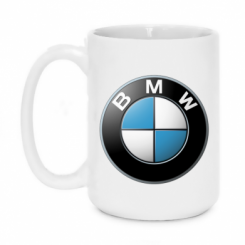 Кружка 420ml BMW Logo 3D