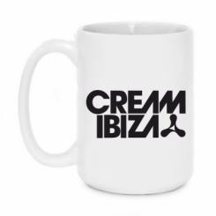 Кружка 420ml Cream Ibiza