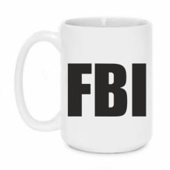 Купити Кружка 420ml FBI (ФБР)