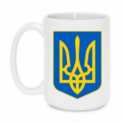 Купити Кружка 420ml Герб неньки-України