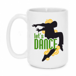 Кружка 420ml let's Dance!
