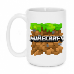 Кружка 420ml Minecraft Main Logo
