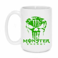 Купити Кружка 420ml Monster Energy Череп