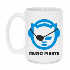 Кружка 420ml Music pirate