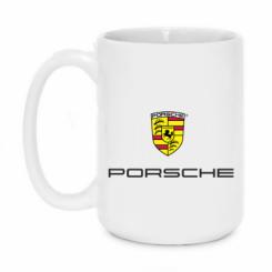 Купити Кружка 420ml Porsche