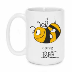 Купити Кружка 420ml Шалена бджілка