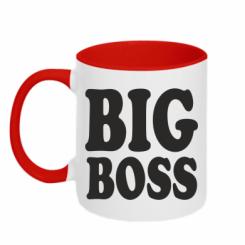 Купити Кружка двокольорова Big Boss