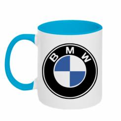 Купити Кружка двокольорова BMW