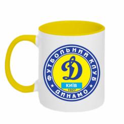 Купити Кружка двокольорова Динамо Київ