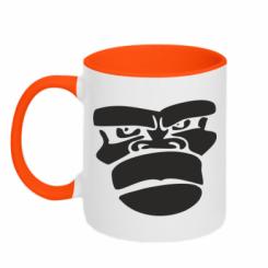 Купити Кружка двокольорова Gorilla