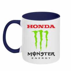 Купити Кружка двокольорова Honda Monster Energy
