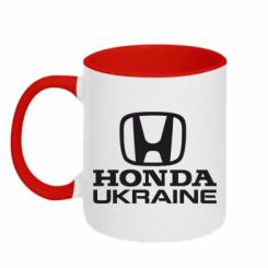 Купити Кружка двокольорова Honda Ukraine