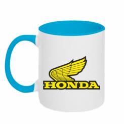 Купити Кружка двокольорова Honda Vintage Logo